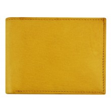 Genuine cow leather wallet P4 Tan