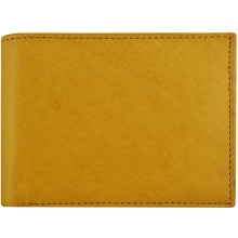Genuine cow leather wallet P6 Tan