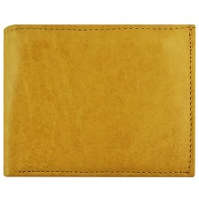 Genuine cow leather wallet P8 Beige