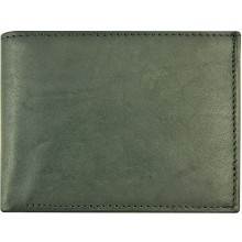 Genuine cow leather wallet P8 Black