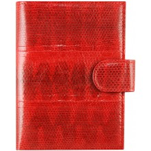 Genuine snake leather wallet PANW50SSN Red