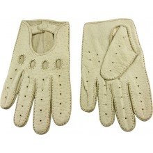 Genuine peccary leather gloves PECGL02 Beige