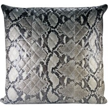 Genuine python snake leather pillow case PILLOW01PT Natural