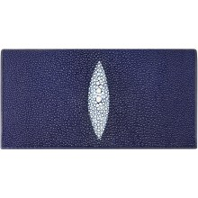 Genuine stingray leather wallet PK274 Blue
