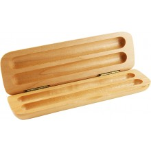 Maple wood pen box PBM02