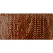Genuine snake leather wallet PPSN011 Tan