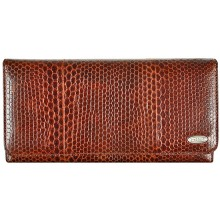 Genuine snake leather wallet PSN2 Tan