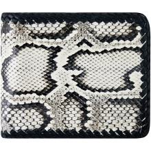 Genuine python leather wallet PTW14TH Natural