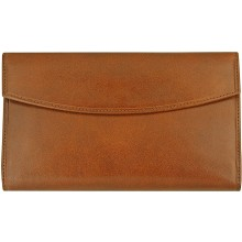 Genuine cow leather wallet R6505RM Brown