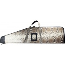 Genuine python snake leather rifle case RIFLE01PT Natural