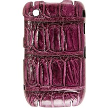 Genuine crocodile leather Blackberry case SCBB8500 / 8520 / 8530 Violet