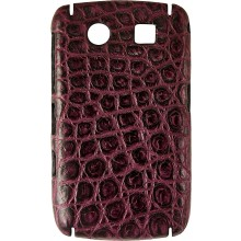 Genuine crocodile leather Blackberry case SCBB8900 / 9300 Violet