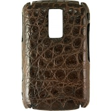 Genuine crocodile leather Blackberry case SCBB9000 Oak
