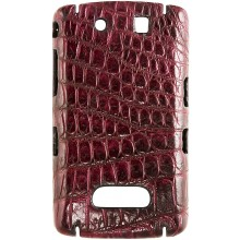 Genuine crocodile leather Blackberry case SCBB9500 / 9530 Violet