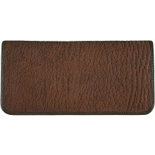 Genuine shark leather wallet SHARK2109 Brown
