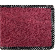 Genuine shark leather wallet SHARK04PL Violet