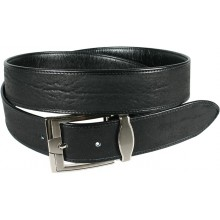 Genuine shark leather belt SHARK105 Black