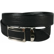 Genuine shark leather belt SHARK105B Black
