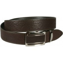 Genuine shark leather belt SHARK105B Brown