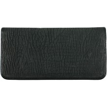 Genuine shark leather wallet SHARK2109 Black