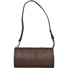 Genuine shark leather bag SHARK2209 Brown
