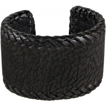 Genuine shark leather bracelet SHARK2211 Black