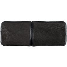 Genuine shark leather cigar case SHARK2241 Black