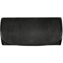Genuine shark leather glasses case SHARK2344 Black
