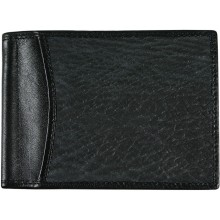 Genuine shark leather money clip SHARK2392A Black