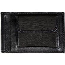 Genuine shark leather money clip SHARK2453 Black