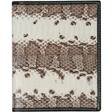 Genuine snake leather wallet SN2086