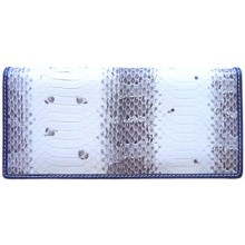 Genuine snake leather long wallet SN2165
