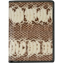 Genuine snake leather wallet SN2176