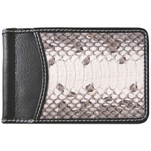 Genuine snake leather money clip SN2392