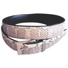 Genuine snake leather belt SNB102