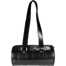 Genuine snake leather bag SNBAL06 Black