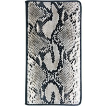 Genuine python leather card holder SNBCARD002S-PT Natural