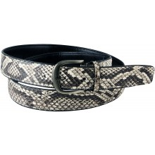 Genuine python snake leather belt SNBPT1-2 Natural