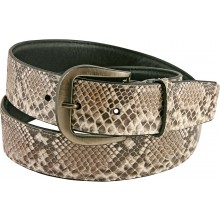Genuine python snake leather belt SNBPT1-5 Natural