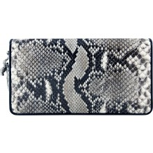 Genuine python leather wallet SNW005PT Natural