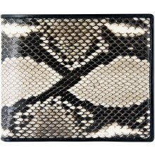 Genuine python leather wallet SNW04-1PT Natural