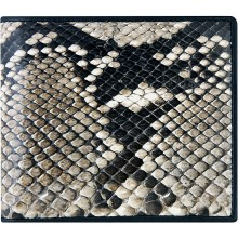 Genuine python snake leather wallet SNW04 Natural