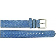Genuine sea snake leather watch band SNWB005 Sky Blue