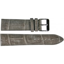 Genuine crocodile leather watch band SPMC-S01 Grey