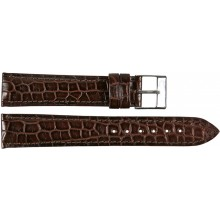 Genuine crocodile leather watch band SPMC-S01 Oak