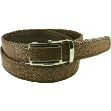 Genuine stingray leather belt STA1SA1-5 Brown