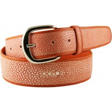 Genuine stingray leather belt STMBB1-5SA Pink
