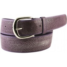 Genuine stingray leather belt STMBB1-5SA Purple