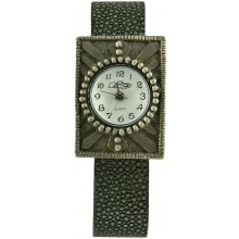 Fashion watch with stingray leather watch band STWAB1316-3 Black