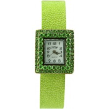 Fashion watch & stingray watch band STWAB1971-2 Light Green